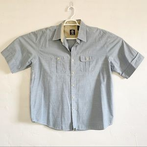 Timberland Shirts - Timberland Men's Blue Button Shirt